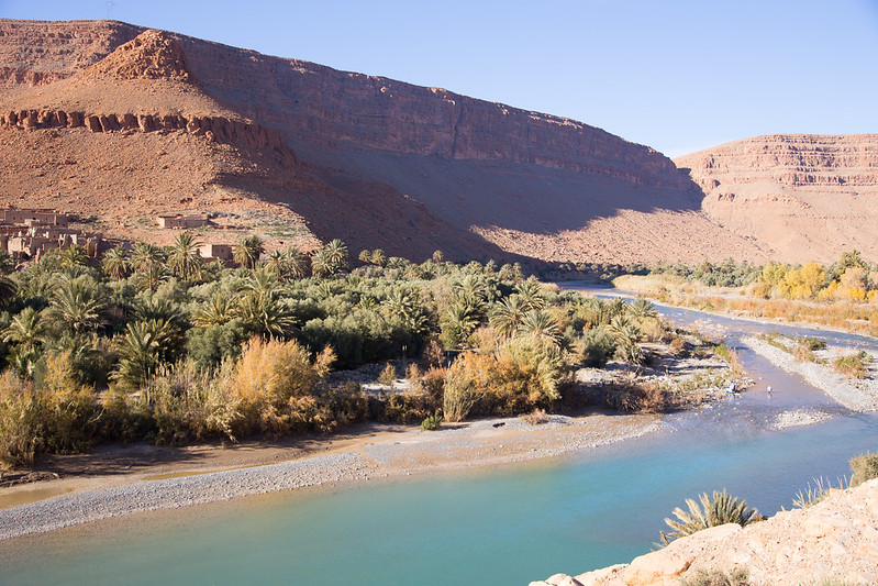 On the drive to Ouarzazate