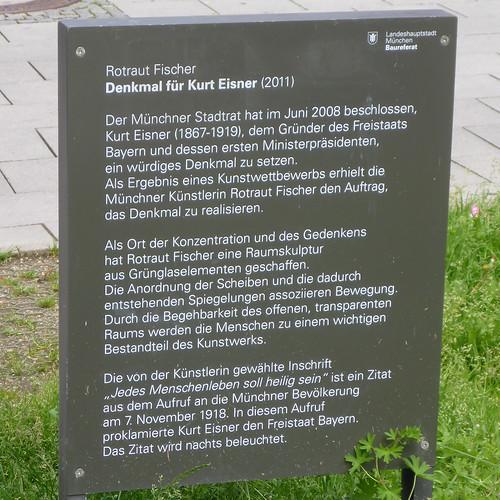 Denkmal für Kurt Eisner