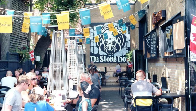 Stone Lion Patio_