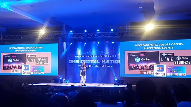 Davao Photos & Videos: Wonderful World With Globe as One Digital Nation Powering the Future of Davao - DavaoLife.com