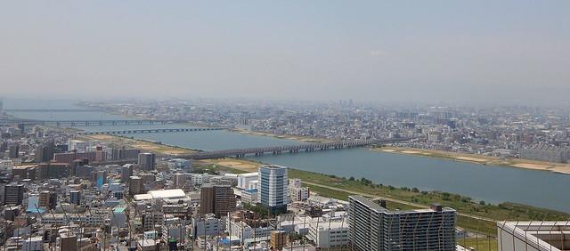 Umeda Sky Building view
