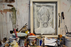 Borondo - Studio Visit 'Animal'