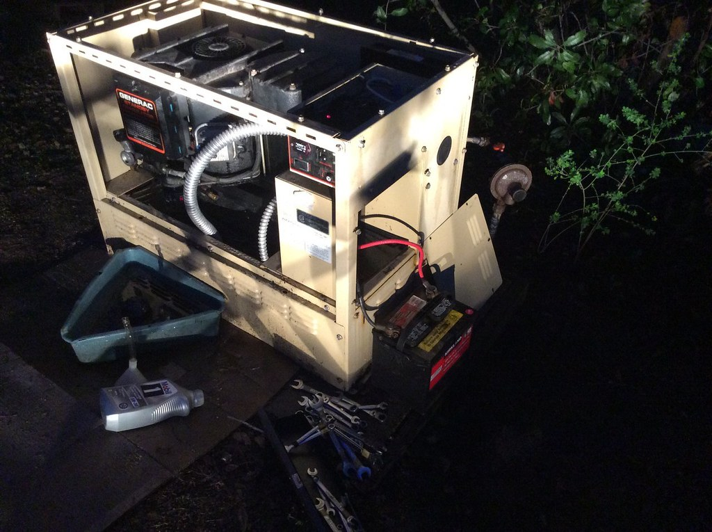 Generac 8kw Generator Balky Start And Transfer Switch