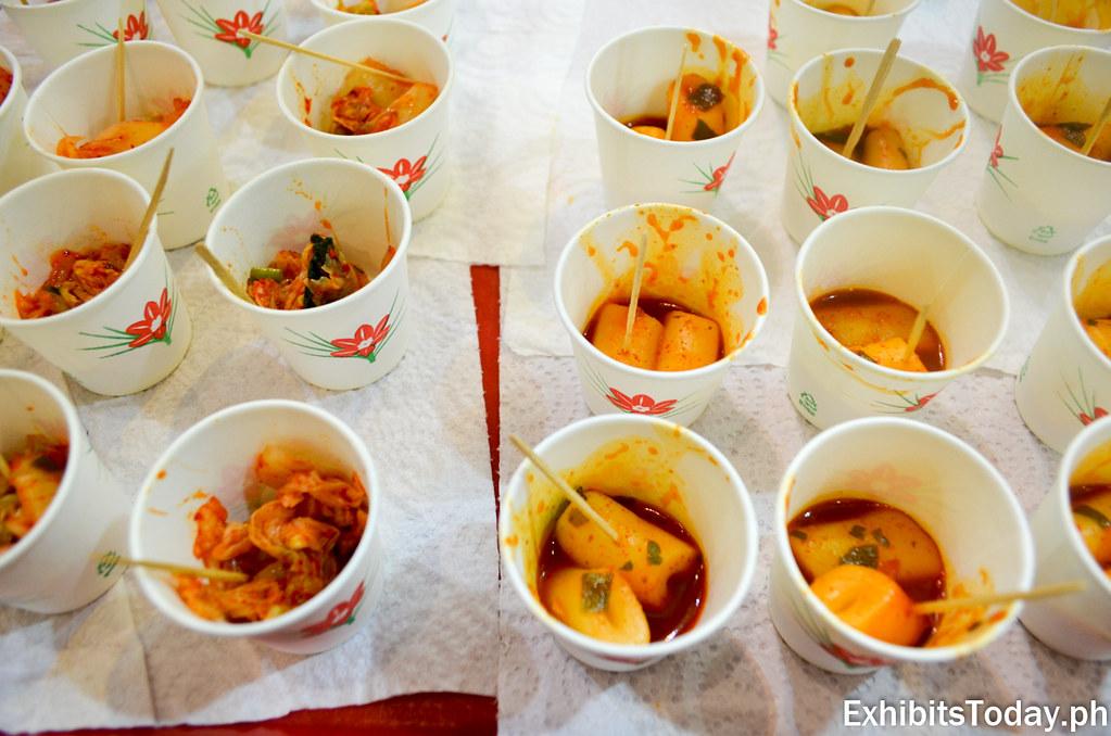 Free taste at Kimci at Korean Food Pavilion