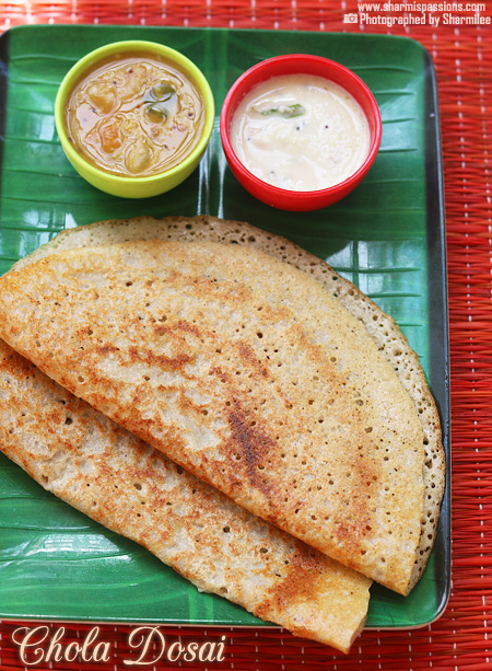 Sorghum Dosa Recipe
