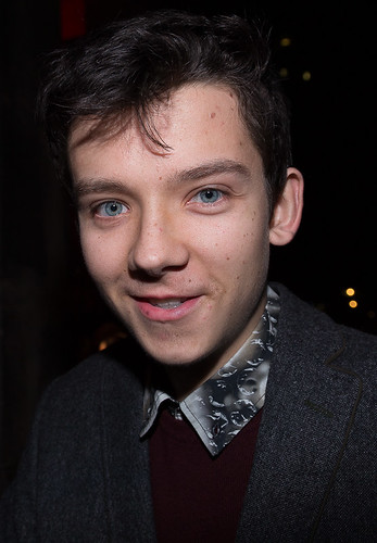 Asa Butterfield at the Moet BIFA British Independent Film Awards 2014