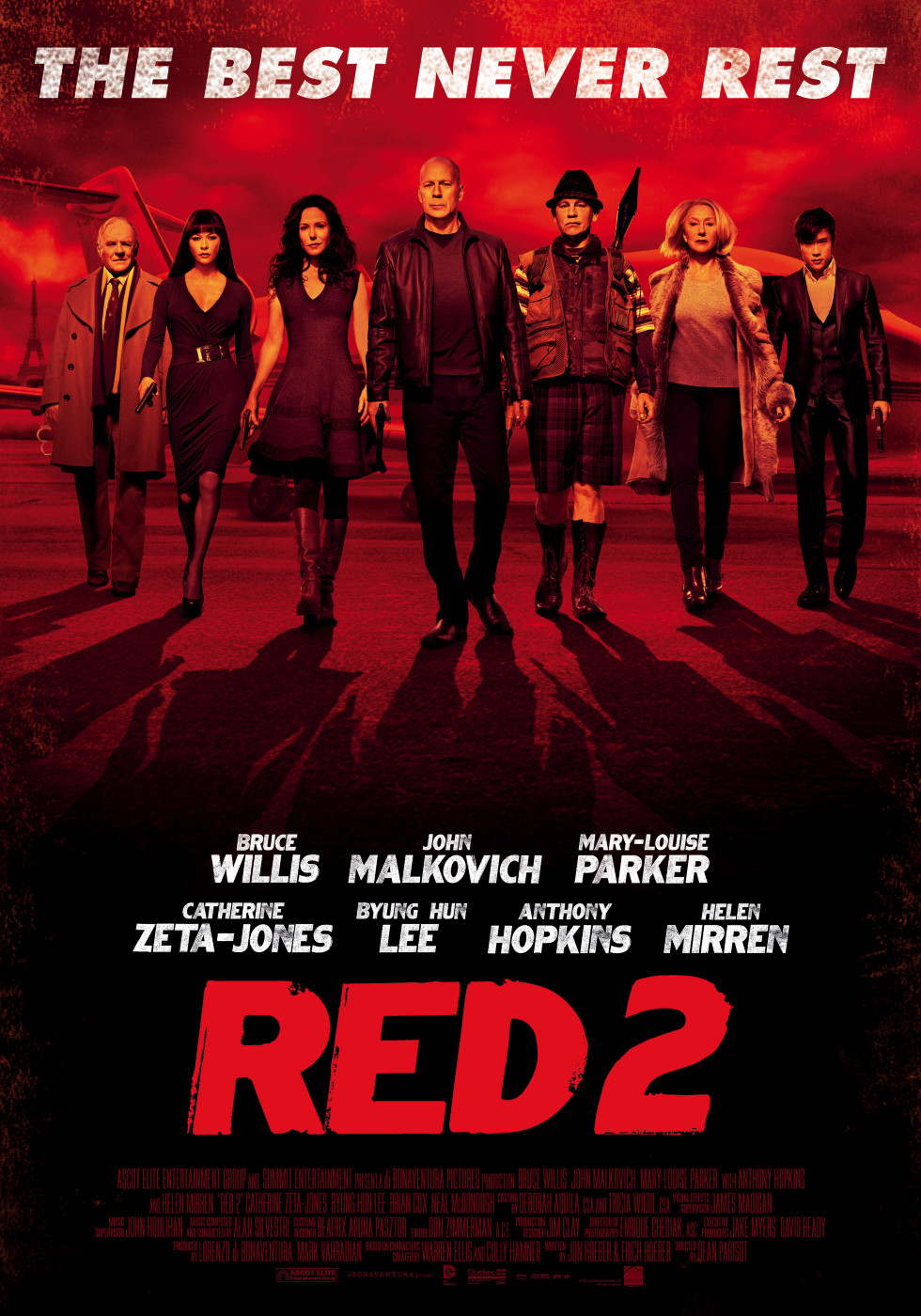 Red 2 Movie Poster Red 2 (2013) | Amazing...