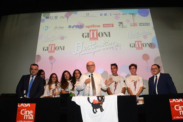 Presentazione tutto Giffoni 2016 - Casa del Cinema,Roma