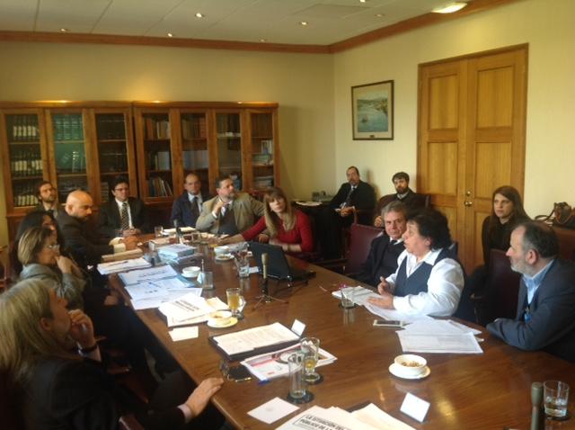 AFUDEP en Comisión de Trabajo por negociación colectiva - 20 junio 2016