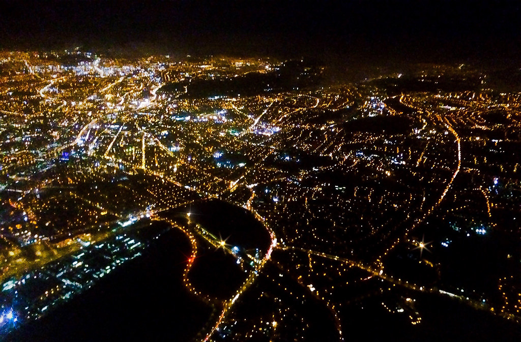Dublin City at Night City Night Lights | by 2c