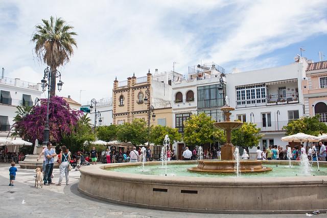 Sanlucar de Barrameda plaza