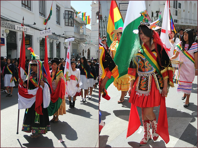 Independence Day celebrations, Sucre
