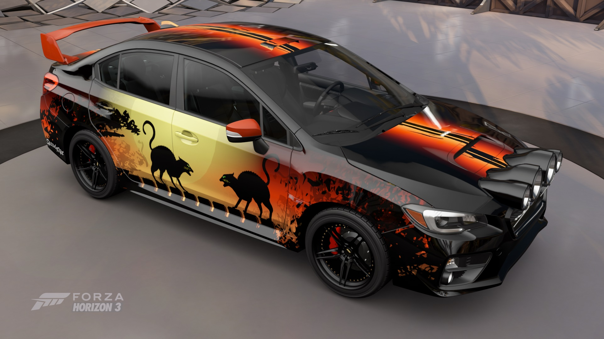 halloween bash 2016 for forza horizon 3 forza motorsport 6 contest archive forza. Black Bedroom Furniture Sets. Home Design Ideas
