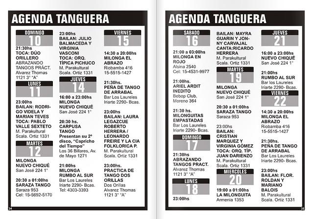 Revista Punto Tango 117 Julio 2016 - Tango Magazine 1