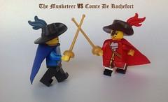 Musketeer VS Comte De Rochefort