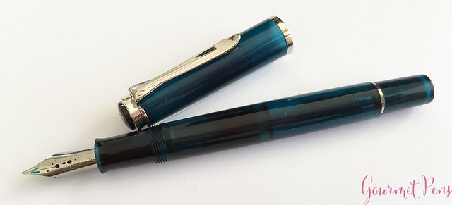 Review Pelikan Classic M205 Aquamarine Fountain Pen Review @AppelboomLaren 16