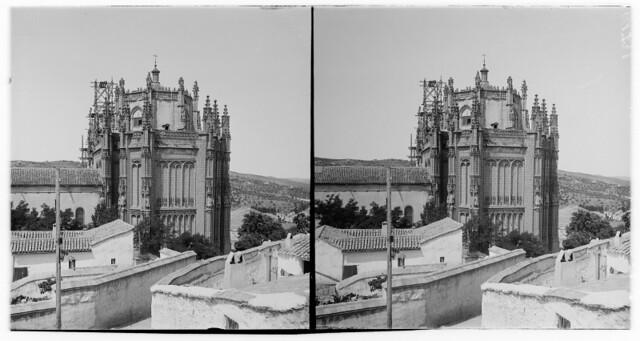 San Juan de los Reyes hacia 1900. Fotografía de Alois Beer © Österreichische Nationalbibliothek