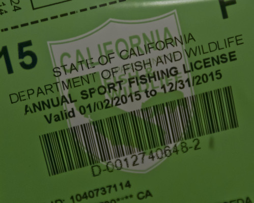 It 39 s here ca fishing license 2015 flickr photo sharing for Where to buy california fishing license