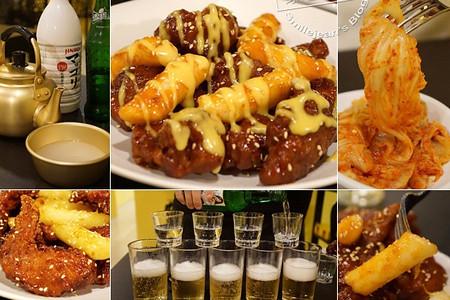 韓巢炸雞~正宗韓式醬炒炸雞,宵夜場聚會品酒選擇多