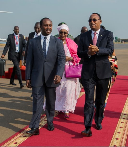 AU Issoufou Niger
