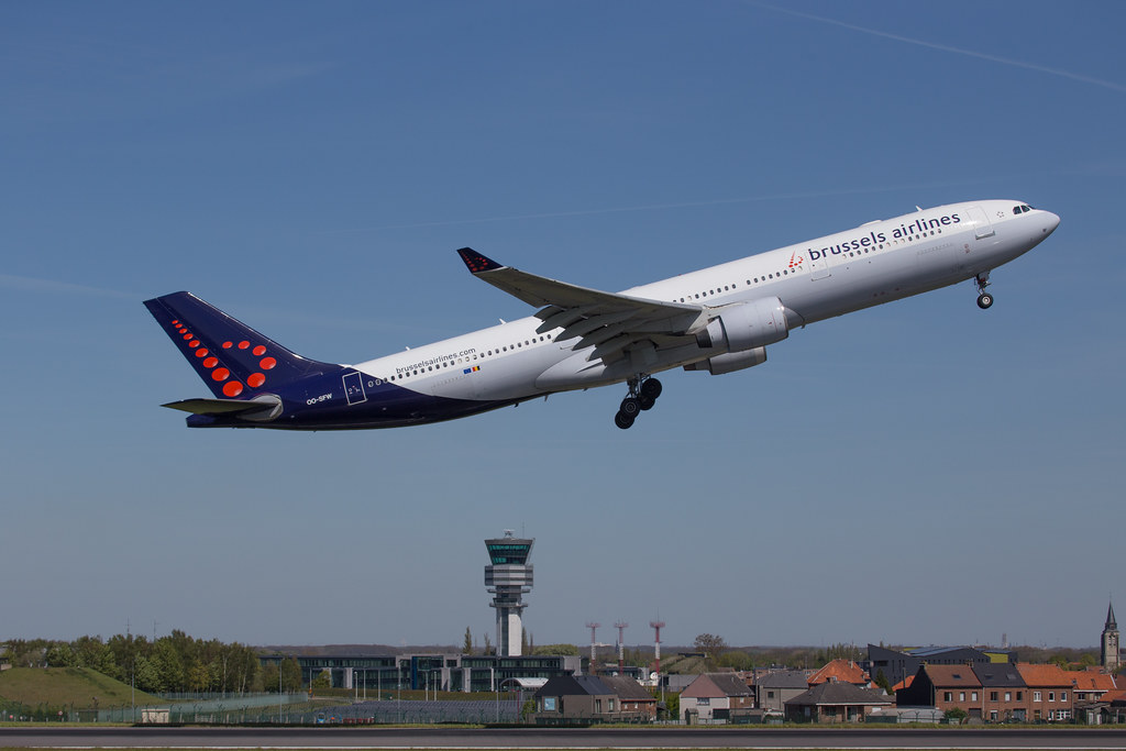 Brussels Airlines at Brussels Airport