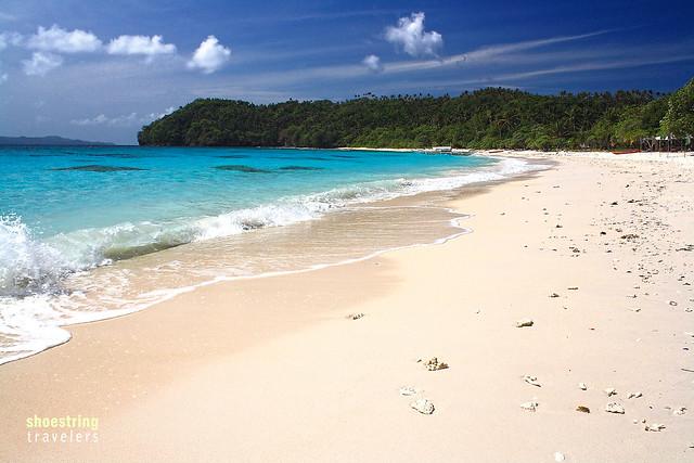 pinkish-white Subic Beach, Matnog, Sorsogon