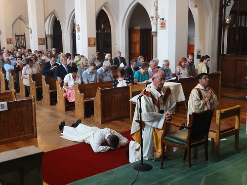 160709 - Priest ordination for Augustinian Recollects - Vauxhall