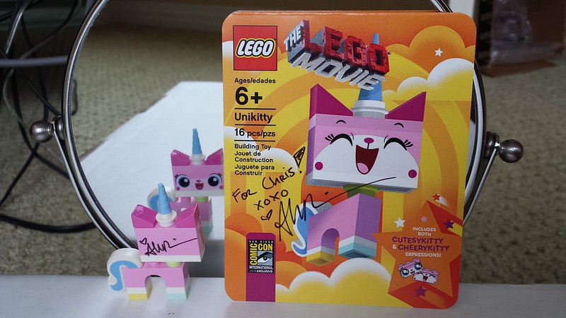 Unikitty - signed by Alison Brie