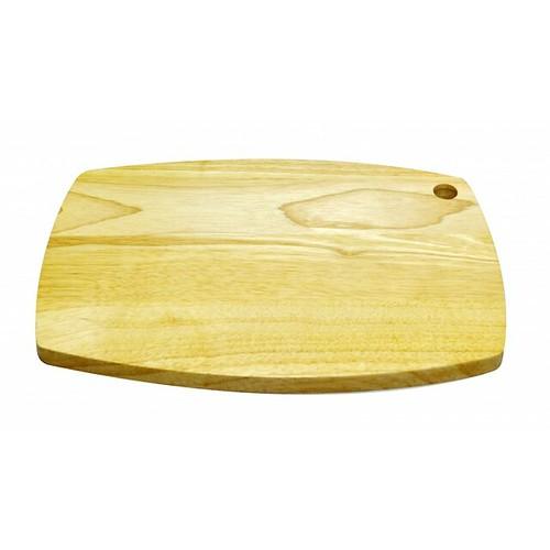 Thớt gỗ cao su mẫu số 1