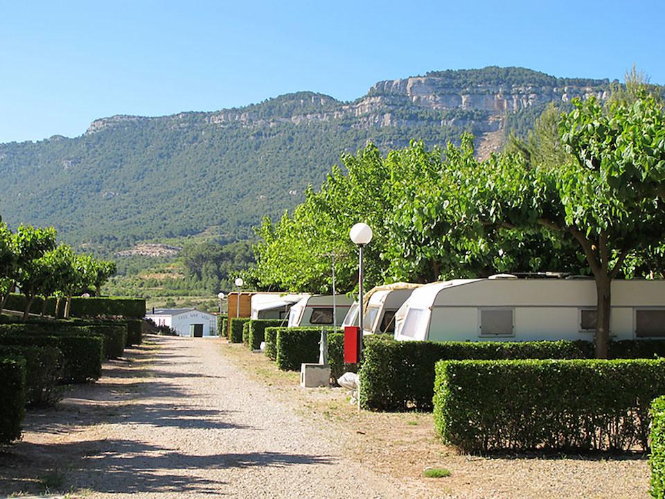 Parcela Camping Montsant