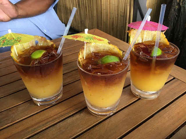 Huggo's famous mai tai - Huggo's on the Rocks