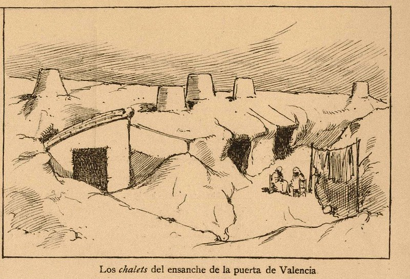 "los ""chalets"" del ensanche de la puerta de valencia"