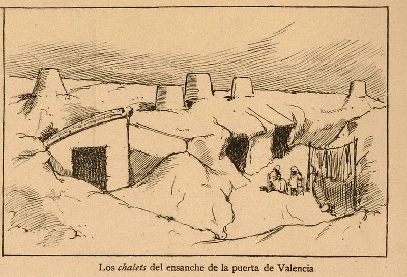 """los """"chalets"""" del ensanche de la puerta de valencia"""