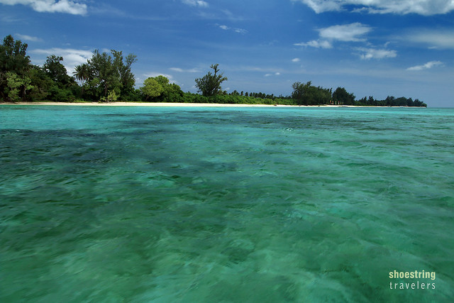 high tide at Cagbalete Island's southeastern shores