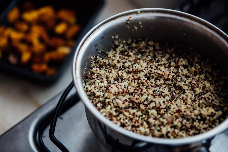 Quinoa com Abóbora