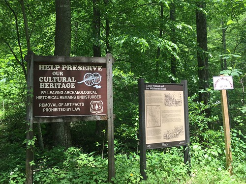 Signage near Wildcat Battlefield