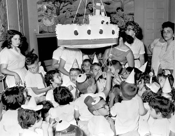 Fourth birthday party of Israel Schiadoski - Havana, Cuba