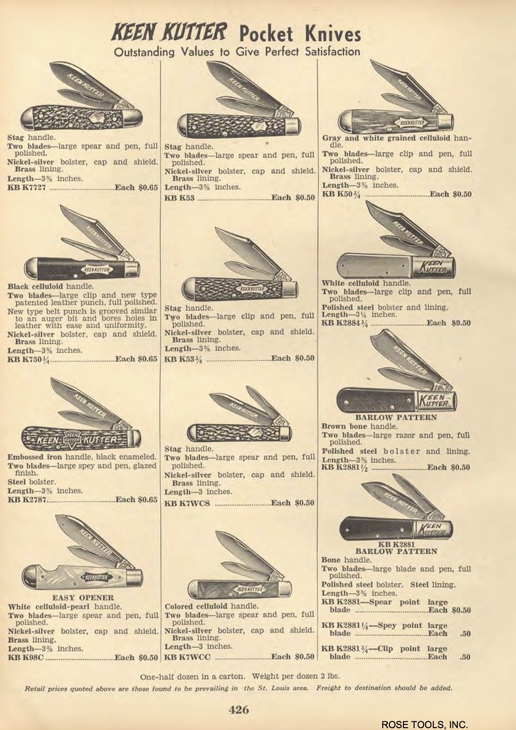 Vintage Knife Catalogs & Ads (Images Only) | Page 4