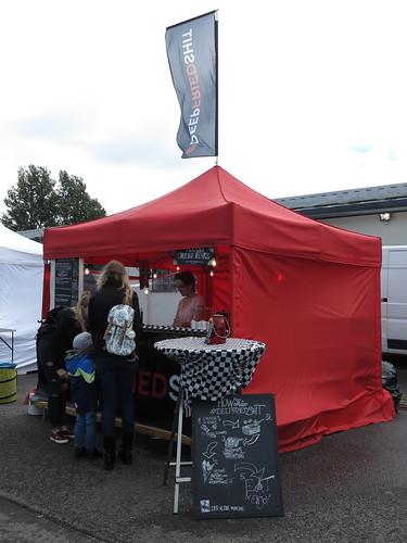 Der kleine Munchkin Stand (auf dem Street Food Festival in Osnabrück)