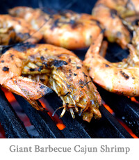 Giant Barbecue Cajun Shrimp