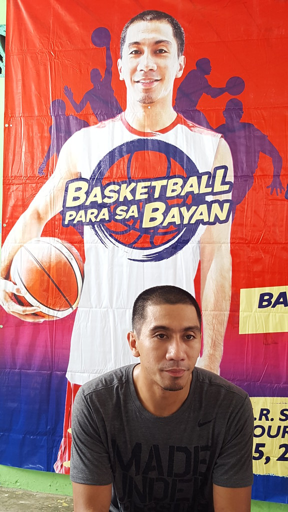 LA Tenorio Leads TM Basketball Para Sa Bayan Clinic in Davao - DavaoLife.com