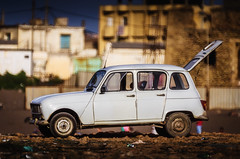 Old Renault 4
