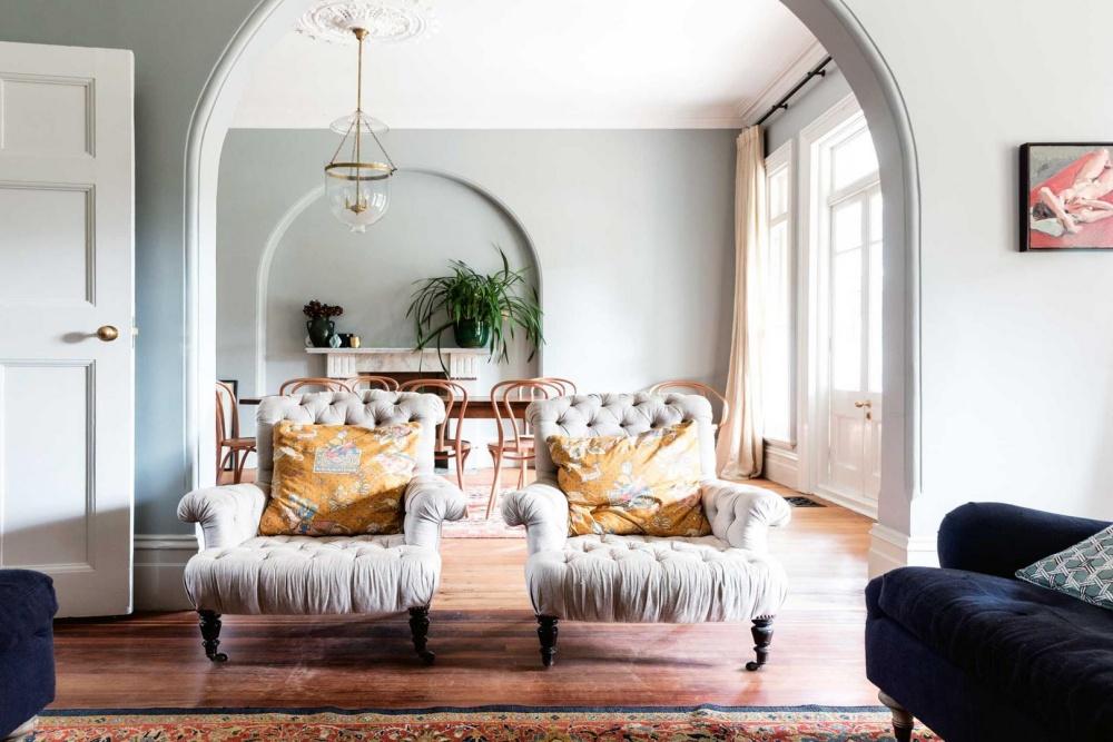 A Stylish Edwardian House In Sydney