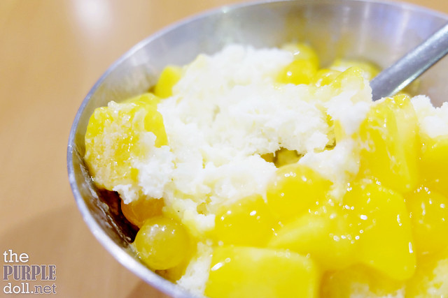 Mango Bingsu Up-Close