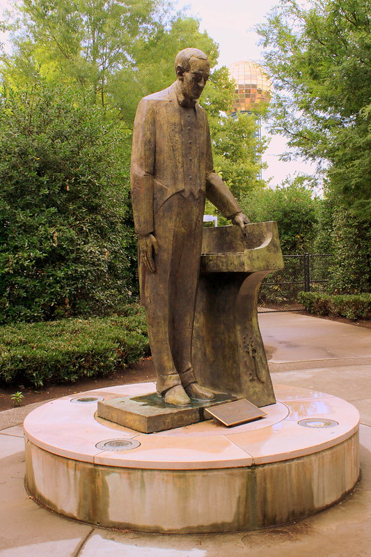 Sergei Rachmaninoff Statue - Knoxville, TN