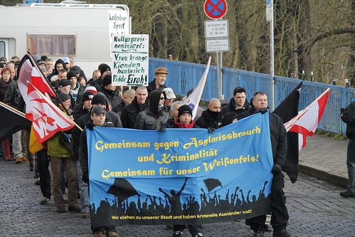 Neonazidemonstration in Weißenfels