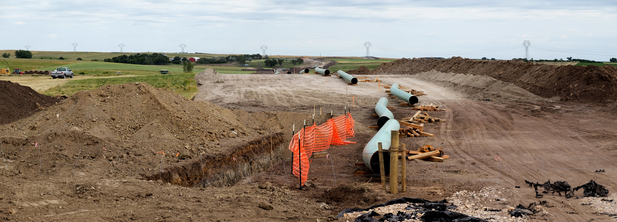 The Dakota Access Pipeline (under construction)