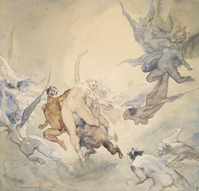 Norman Lindsay - The Dream, 1923