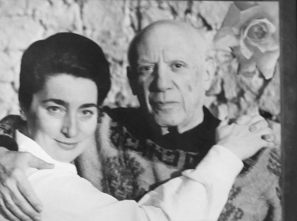 Picasso Jacqueline Roque Picasso et Jacqueline Roque