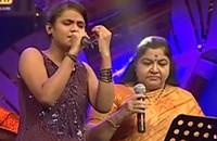 Super Singer Junior – Engae Enadhu Kavithai by SSJ07 Srisha and Chithra
